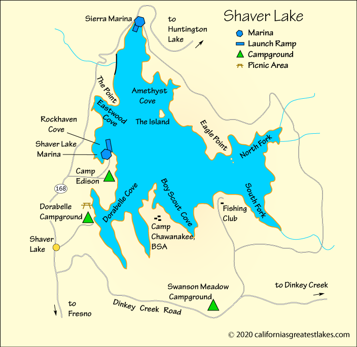 Shaver Lake Fishing