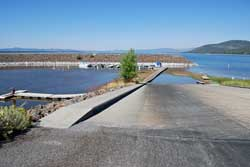 Eagle Lake Marina launch ramp