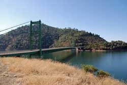 Photo of bridge at Lake Oroville