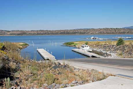 Spaulding Launch Ramp at Eagle Lake