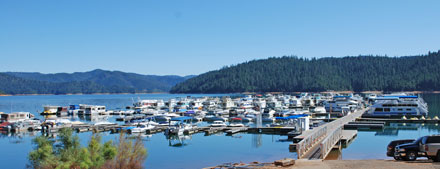 Photo of Cedar Stock Marina at Trinity Lake, CA