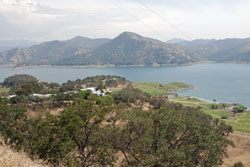 Photo of Island Park area at Pine Flat Lake, CA