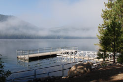 Photo of Public Fishing Dock at Donner Lake, CA