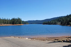 Photo of Stuart fork at Trinity Lake, CA