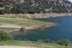 Photo of Trimmer boat ramp at Pine Flat Lake, CA