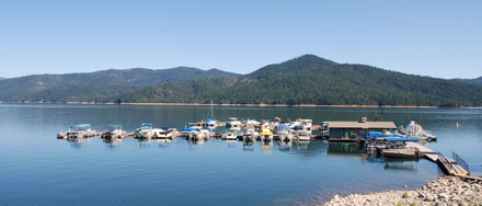 Photo of Trinity Center Marina at Trinity Lake, CA