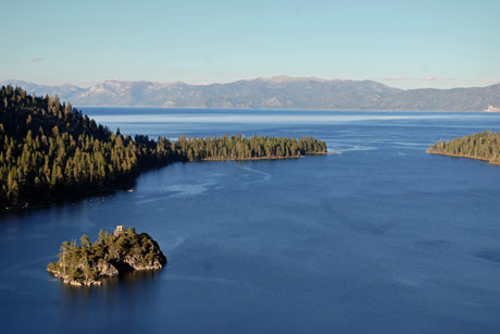 Photo of Lake Tahoe and Emerald Bay