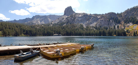 Lake George, Mammoth Lakes, CA