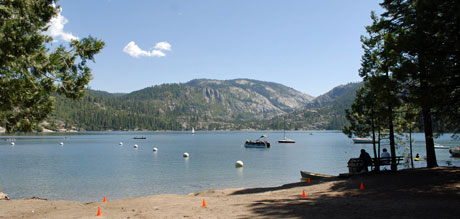 Photo of Pinecrest Lake, CA