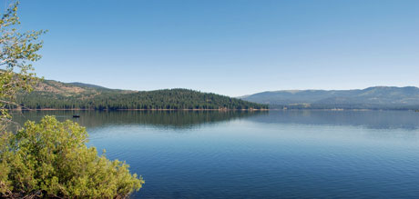 Photo of Stampede Reservoir, California
