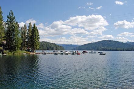 Huntington Lake   Marinas
